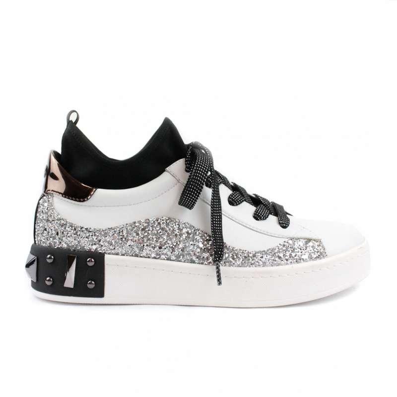 06 Milano Scarpe Sneakers Bianche Donna