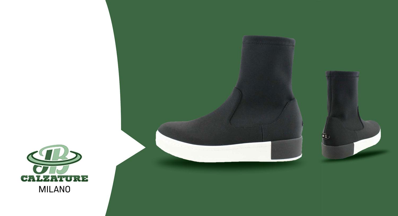 Q6 Milano Sneakers Stivaletto Nero